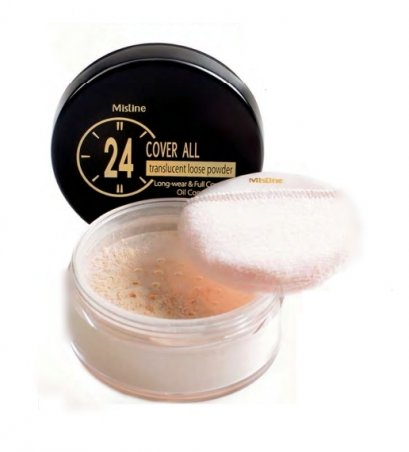 Mistine 24 Cover All Translucent Loose Powder 22 g.