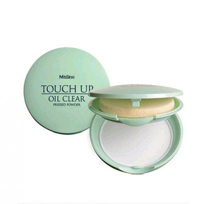 Mistine Touch Up Oil Clear Press Powder 8 g.