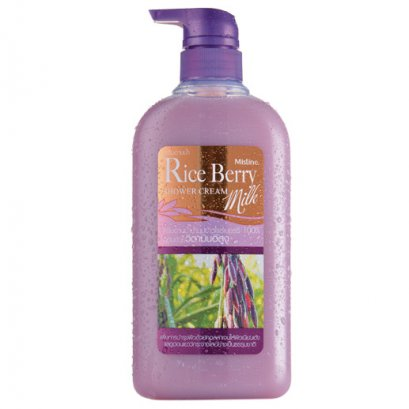 Mistine Rice Berry Milk Shower Cream 500 ml.