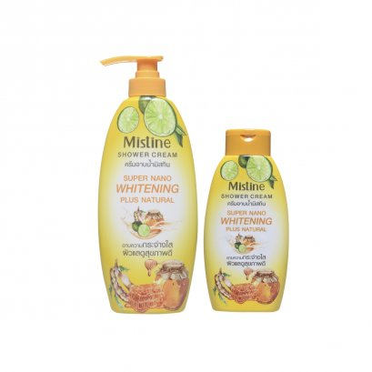 Mistine Super Nano Whitening plus Natural Shower Cream