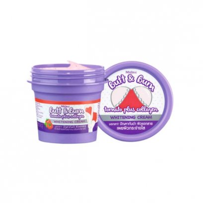 Mistine Butt & Bum Tomato plus Collagen Whitening Cream 45 g.