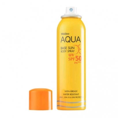 Mistine Aqua Base Sun Body Spray 100 ml. SPF 50 PA+++