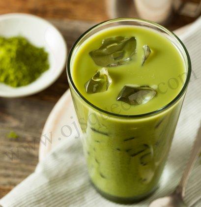 Green Tea Latte Beverage Powder