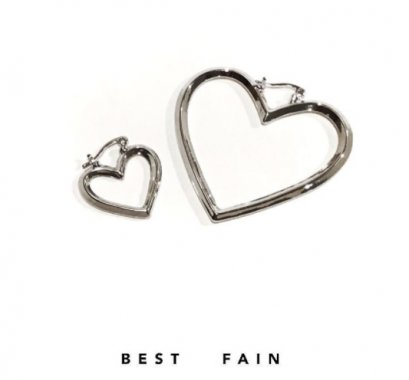 Bestfain Earring - Heart Rock