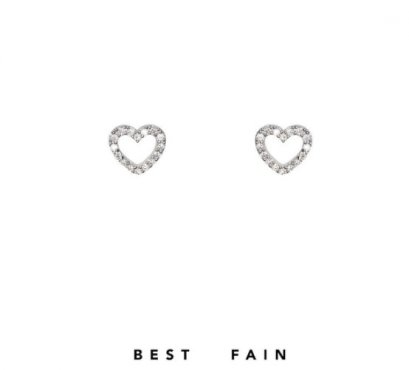 Bestfain Earring - Heart DM