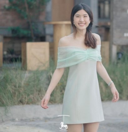 Style Syrups Florence Dress - Mint