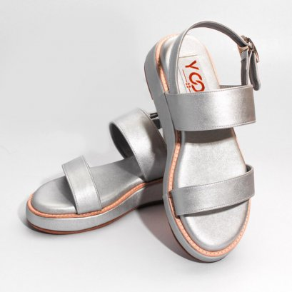 Yoon Everyday Sandals - Silver