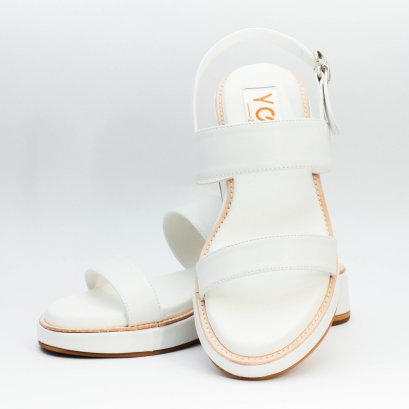 Yoon Everyday Sandals - White