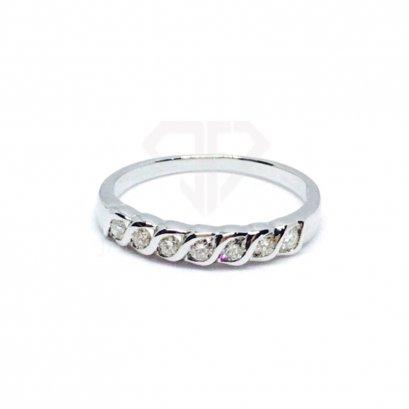 แหวนเพชรเบลเยี่ยมแท้ น้ำ98