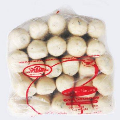 ไส้กรอกหมูกระเทียม แพค  25 ชิ้น / 2400 กรัม