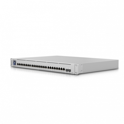 USW-Enterprise-24-PoE,Layer 3, PoE switch with (12) 2.5GbE, 802.3at PoE+ RJ45 ports, (12) GbE, 802.3at PoE+ RJ45 ports, and (2) 10G SFP+ ports