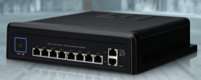 USW‑Industrial 10-Port Durable Switch with High-Power 802.3bt PoE++