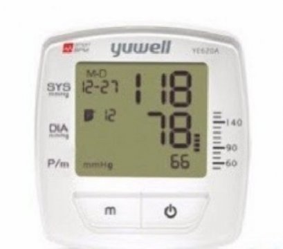 Automatic talkable blood pressure monitor YUWELL model :  YE620A