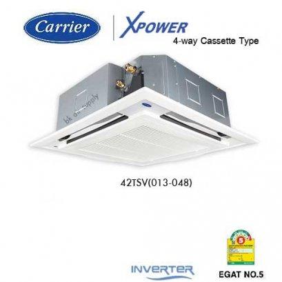 แอร์แคเรียร์ เครื่องปรับอากาศฝังฝ้าสี่ทิศทาง อินเวอร์เตอร์ Carrier Inverter