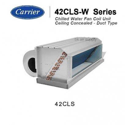 แอร์แคเรียร์ คอยล์น้ำเย็น แบบคอยล์เปลือยซ่อนในฝ้า ต่อท่อลม Carrier