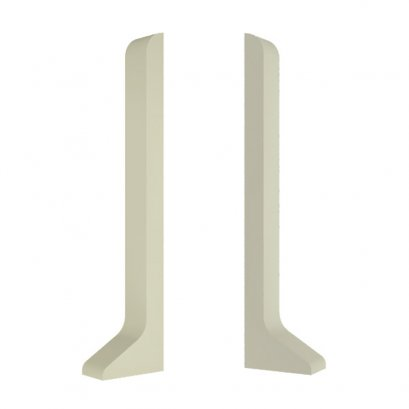 PVC Left - Right End Cap for Aluminium Self Adhesive Skirting model SK800-ECL-ECR