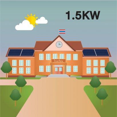 SOLAR ROOFTOP 1.5KW for SCHOOL