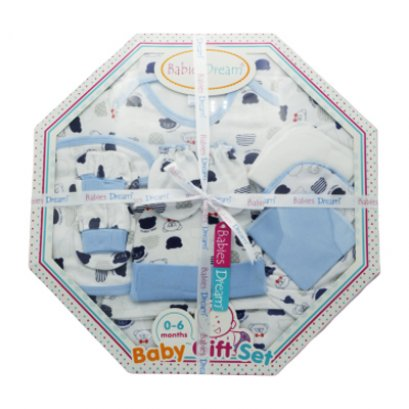 Babies Dream 10 Pieces Octagonal gift set