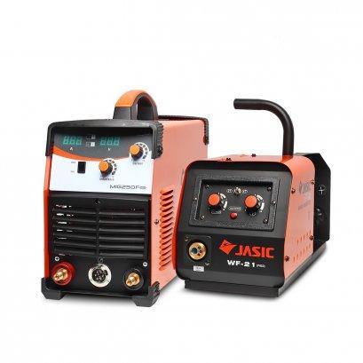เครื่องเชื่อมไฟฟ้า ป้อนลวด JASIC MIG250FN253