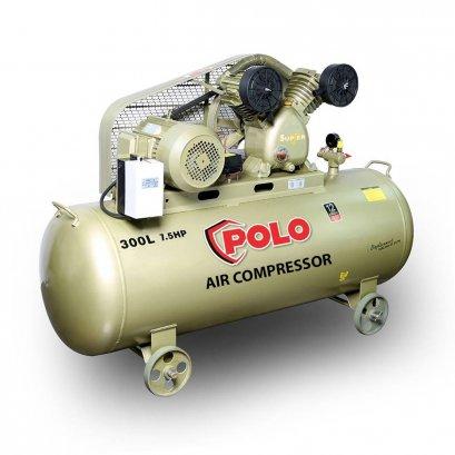 ปั๊มลมสายพาน POLO SGJ2090A-300 ขนาด 300 ลิตร (7.5HP)