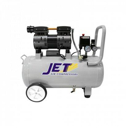 ปั๊มลมชนิด เงียบ แบบไร้น้ำมัน JET JOS-150 ขนาด 50 ลิตร