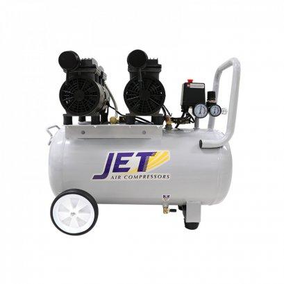 ปั๊มลมชนิด เงียบ แบบไร้น้ำมัน JET JOS-250 ขนาด 50 ลิตร