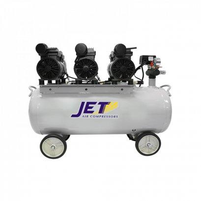 ปั๊มลมชนิด เงียบ แบบไร้น้ำมัน JET JOS-370 ขนาด 70 ลิตร