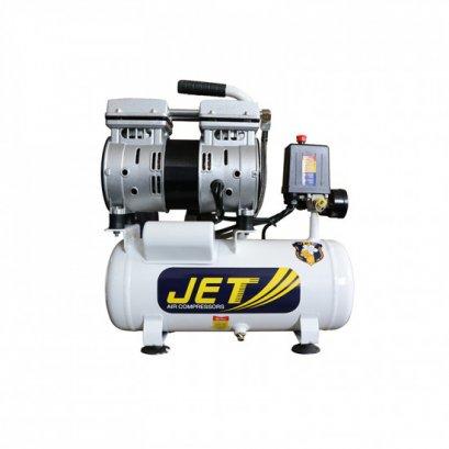ปั๊มลมชนิด เงียบ แบบไร้น้ำมัน  JET JTO-09 ขนาด 9 ลิตร