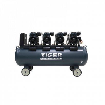 ปั๊มลม Oil free 150 ลิตร TIGER JAGUAR - 150 1390W x 4 220V.