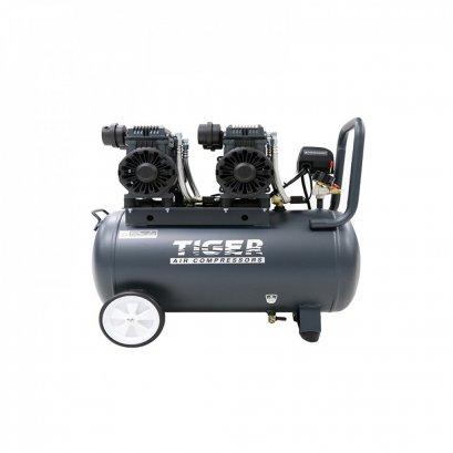 ปั๊มลม Oil free 50 ลิตร TIGER JAGUAR - 50 1390W. x 2