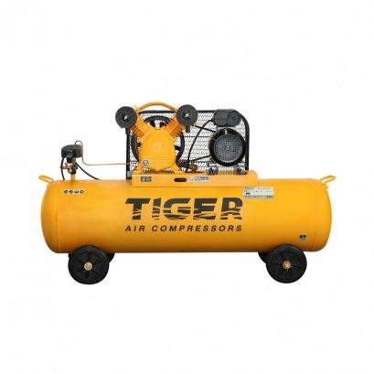 ปั๊มลมสายพาน ถัง 150 ลิตร TIGER TGA22-150M 2HP. มอเตอร์ 3HP. 220V