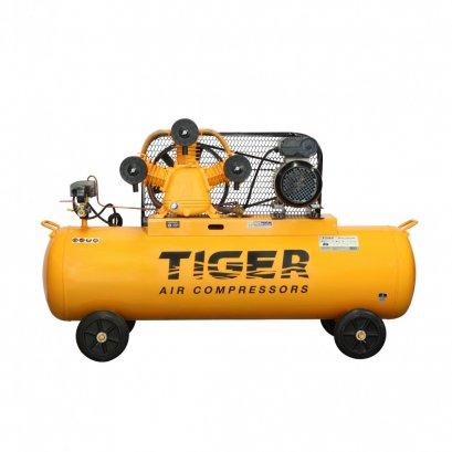 ปั๊มลมสายพาน ถัง 270 ลิตร TIGER TGA33-270M 3HP มอเตอร์ 4HP. 220V