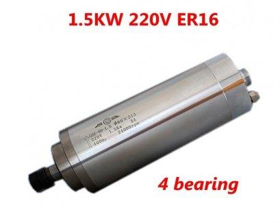 Spindle motor 1.5KW ER16 Water