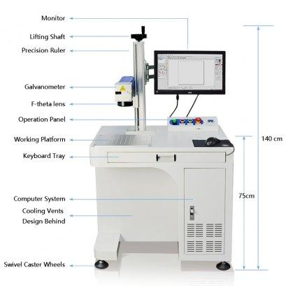 30W Fiber Laser Marking