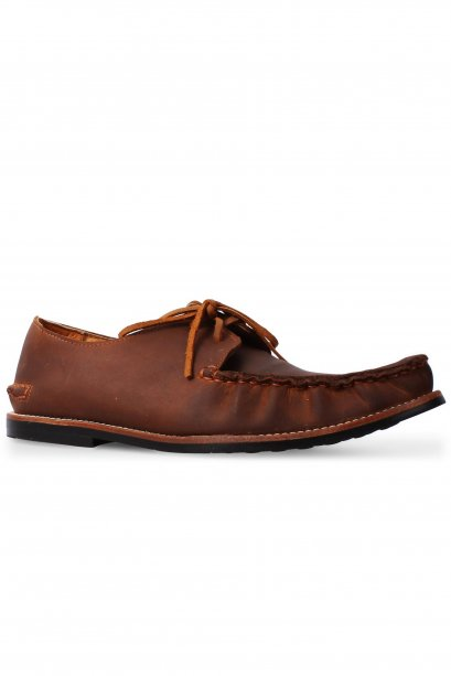 Tan Full Moccasin Lace Up
