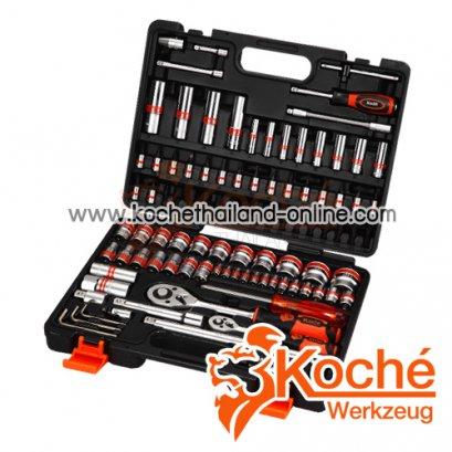 KCH048 บล็อกชุด 96 ตัว SQ-DR.1/4-1/2 นิ้ว
