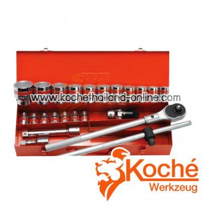 KCH055 บล็อกชุด 24 ตัว SQ-DR.3/4 นิ้ว