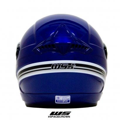 หมวกเปิดหน้าสีน้ำเงิน รุ่น WS-1