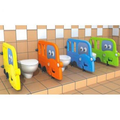 แผ่นกั้นห้องน้ำรถโรงเรียน-เฟอร์นิเจอร์เด็ก เฟอร์นิเจอร์โรงเรียน แผ่นกั้นห้องน้ำเด็ก by Sealplay