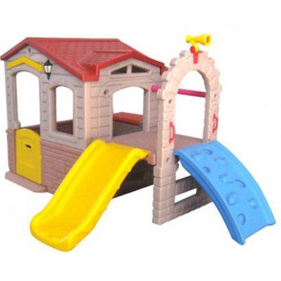 บ้านหรรษากระดานลื่น-ของเล่นพลาสติก ของเล่นสนาม บ้านกระดานลื่น สไลเดอร์ by Sealplay