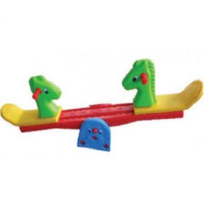 ไม้กระดกรูปม้า- ของเล่นพลาสติก ของเล่นสนาม โยกเยก ไม้กระดก by Sealplay