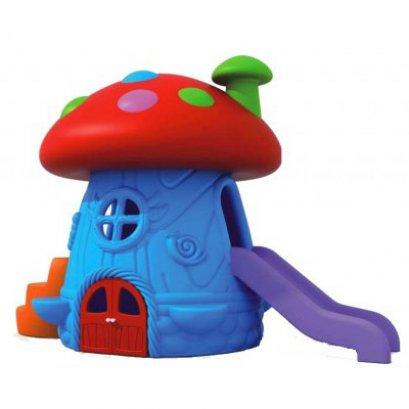 บ้านเห็ดยักษ์กระดานลื่น-ของเล่นพลาสติก ของเล่นสนาม บ้านกระดานลื่น สไลเดอร์ by Sealplay