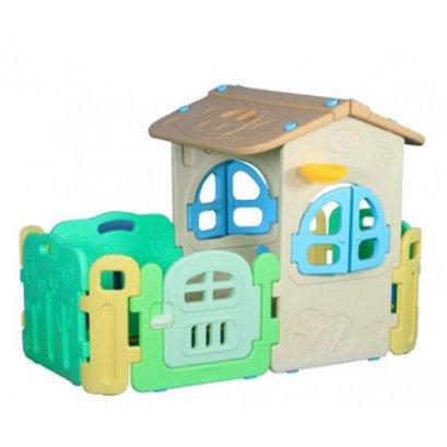 บ้านกลางสวน+รั้ว- ของเล่นพลาสติก ของเล่นสนาม บ้านเด็ก บ้านของเล่น by Sealplay