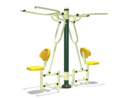 Sealplay เครื่องออกกำลังกายกลางแจ้ง ฟิตเนสกลางแจ้ง สวนสาธารณะ อุปกรณ์ดึงบริหารกล้ามแขนคู่