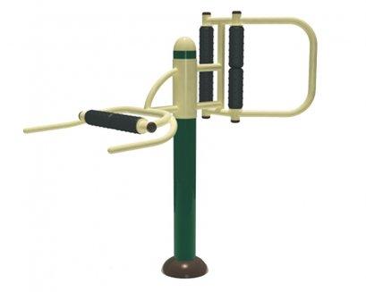 Sealplay เครื่องออกกำลังกายกลางแจ้ง ฟิตเนสกลางแจ้ง สวนสาธารณะ อุปกรณ์นวดหลังและเอว
