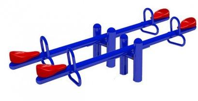 Sealplay ของเล่นสนาม ไม้กระดก 4 ที่นั่ง