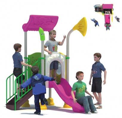 Sealplay สนามเด็กเล่น กระดานลื่น สไลเดอร์- เครื่องเล่นสนาม B ชุดมินิแฟนซี