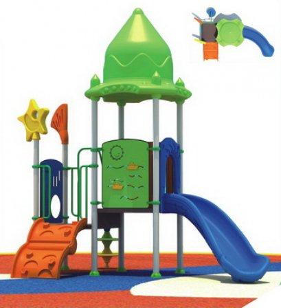 Sealplay สนามเด็กเล่น กระดานลื่น สไลเดอร์- เครื่องเล่นสนาม B ชุดแฟนซีแฮท