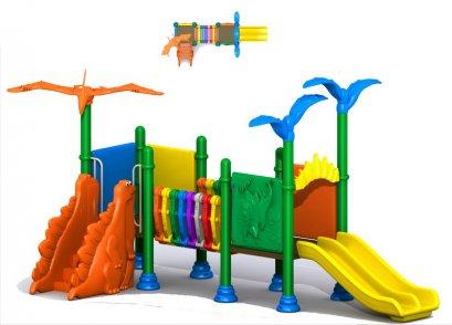 เครื่องเล่นสนาม A ชุดมินิไดโนสไลด์-เครื่องเล่นสนาม กระดานลื่น สไลเดอร์ by Sealplay