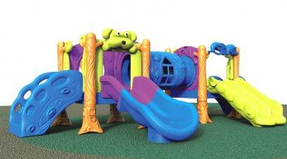 Sealplay สนามเด็กเล่น กระดานลื่น สไลเดอร์- เครื่องเล่นสนาม ชุดด็อคกี้โฮมสไลด์